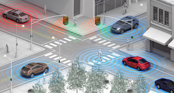 GM testing pedestrian detection system powered by WiFi Direct
