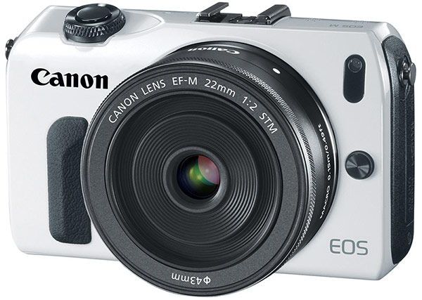 Canon unveils EOS M mirrorless 18 MP APSC, 3inch touchscreen, EF compatibility, ships in October for $  800 with 22mm lens