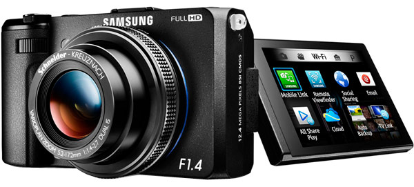 Samsung upstages Sony with f14equipped EX2F pointandshoot