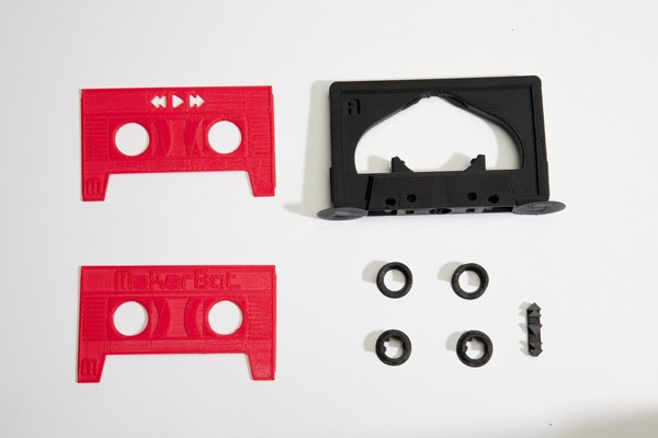 DNP MakerBot brings back the 'Mixtape' as a printable MP3 player