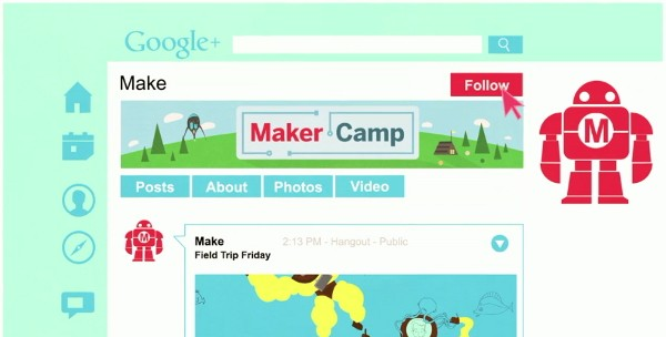 Maker Camp brings DIY fun to teens via Google Hangouts
