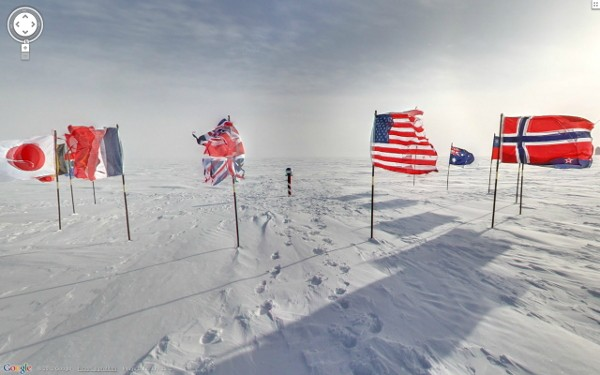 Street View heads back to the Antarctic, visits historic landmarks