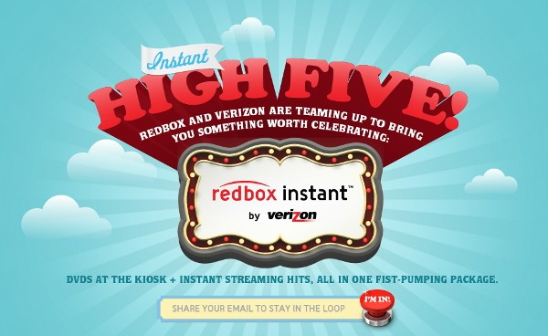 Redbox Instant enters testing with help from Verizon