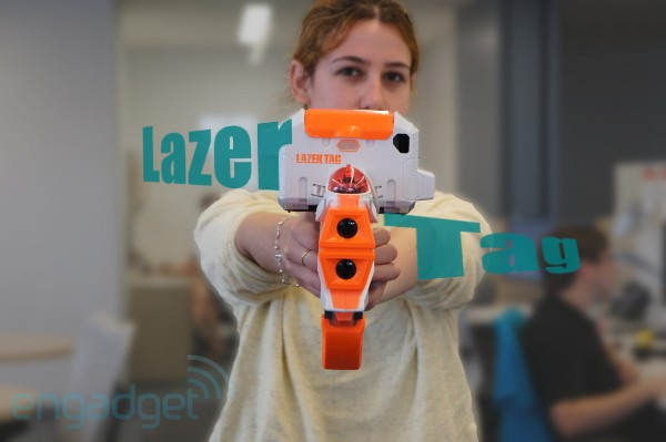 Hasbro Lazer Tag handson video