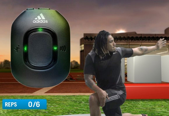Adidas miCoach out now on European Xbox 360s and PS3s, connects to cameras and Adidas hardware