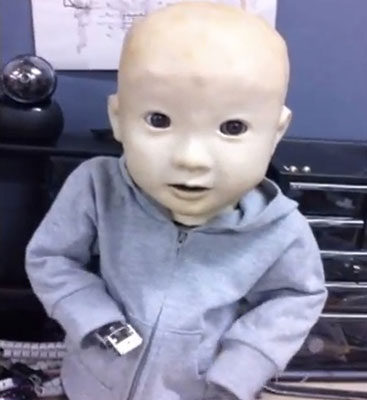 Baby robot Affetto gets a torso, still gives us the creeps
