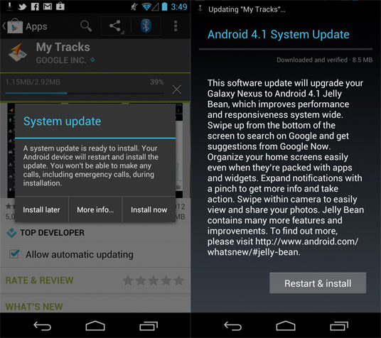 Google posts Android 41 Jelly Bean's changelog, explores its latest dessert in detail