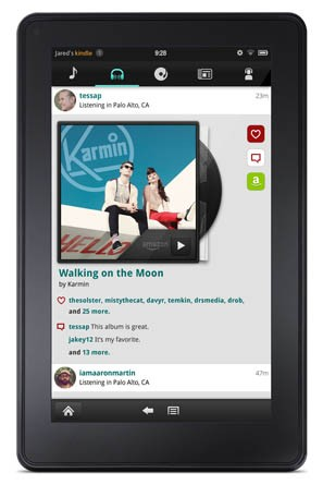 AOL redesigns its Play music app for the Kindle Fire