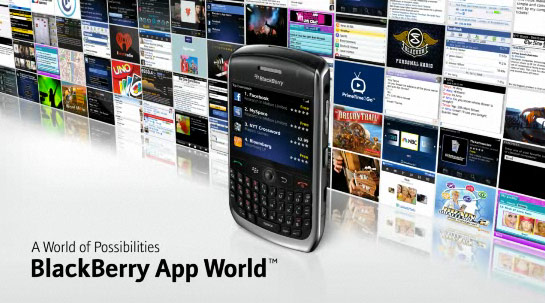 Finally BlackBerry App World gains 'upgrade all' command
