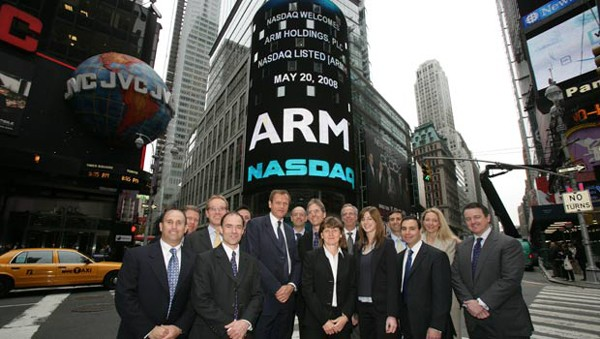 ARM sees earnings surge  23 percent, tests forecasters' patience