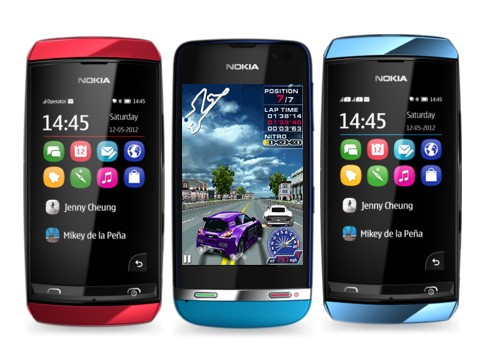 Nokia Asha Touch 