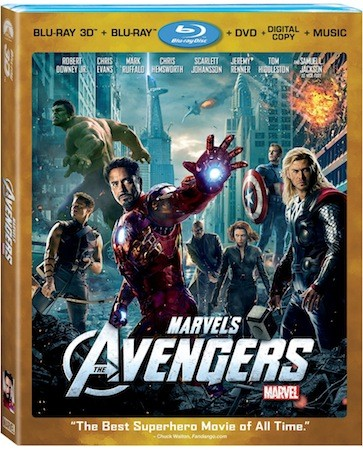Marvel's The Avengers Bluray combo pack hits September 25th, iOS second screen app this month video