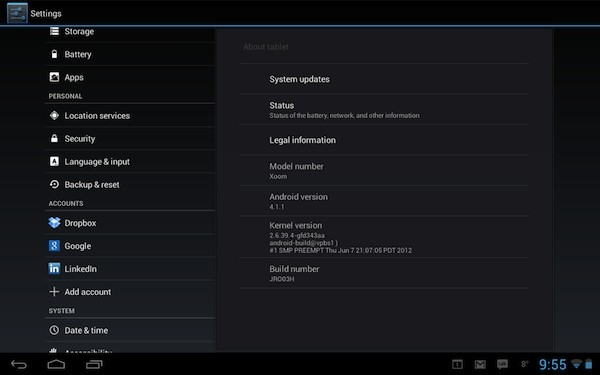 Motorola Xoom WiFi Jelly Bean upgrade arriving for regular users