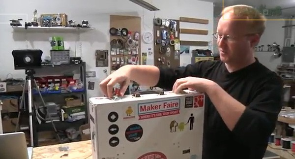 Ben Heck overhauls his custom 3D printer, makes it extra portable video