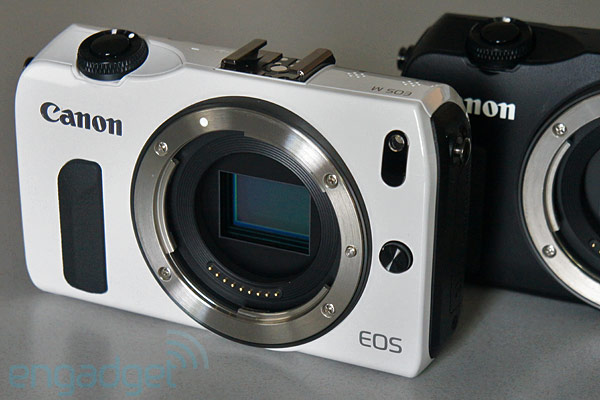 Canon EOS M mirrorless camera handson video