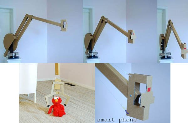 Insert Coin Cardboard Robot brings craning, plucking plus a good dose of whimsey and learning