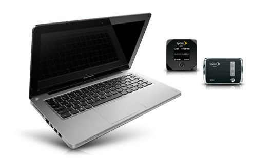 Sprint bundles Lenovo IdeaPad U310 and a mobile hotspot for $850 and a monthly bill