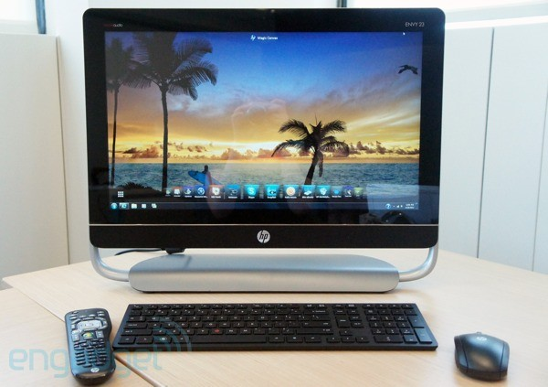 HP unveils four new business and consumer allinones with Ivy Bridge insides
