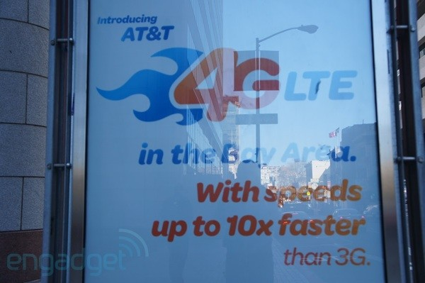 AT&T lights up LTE network in more markets, expands coverage in others