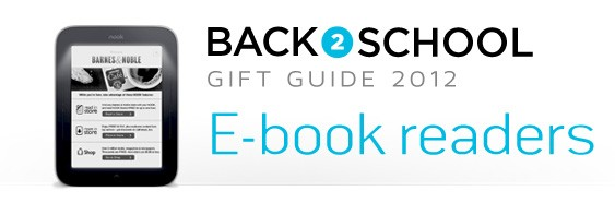 DNP Engadget's back to school guide 2012 Ereaders
