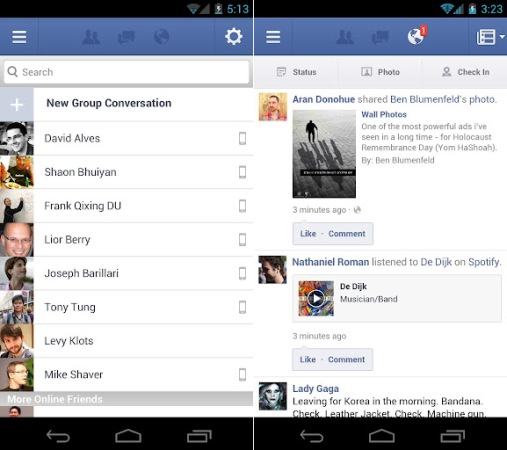 Facebook for Android update requires Froyo, tweaks messaging and picture taking