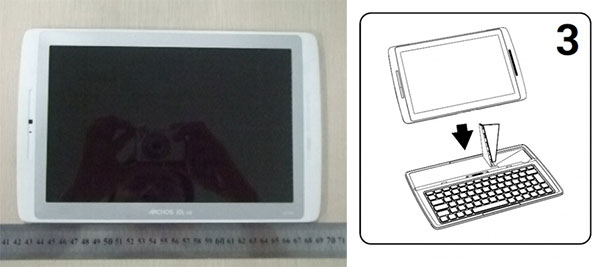 Archos 101XS Transformer rival reappears passes federal inspection, minus the keyboard