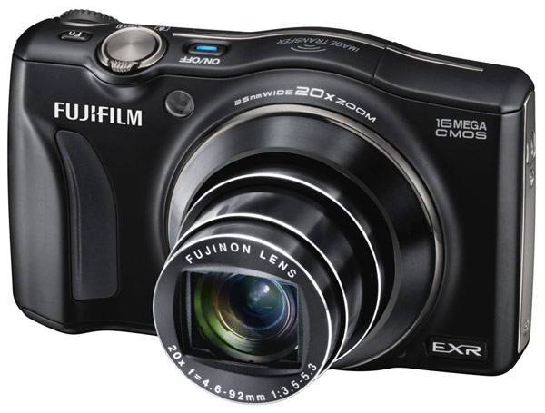 Fujifilm unwraps FinePix F800EXR camera with wireless sharing to Android, iOS
