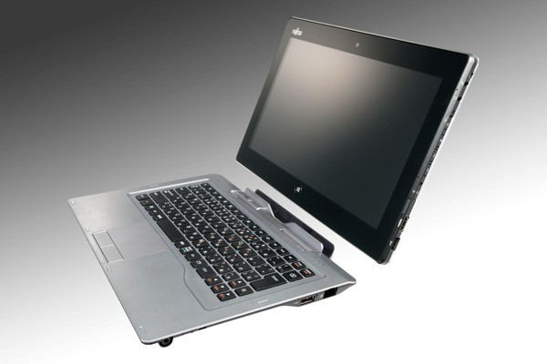 Fujitsu showcases hybrid tablet and convertible laptop