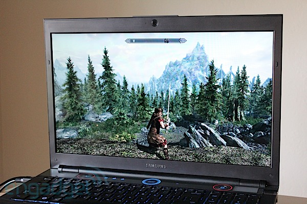 DNP  Samsung Series 7 Gamer laptop review