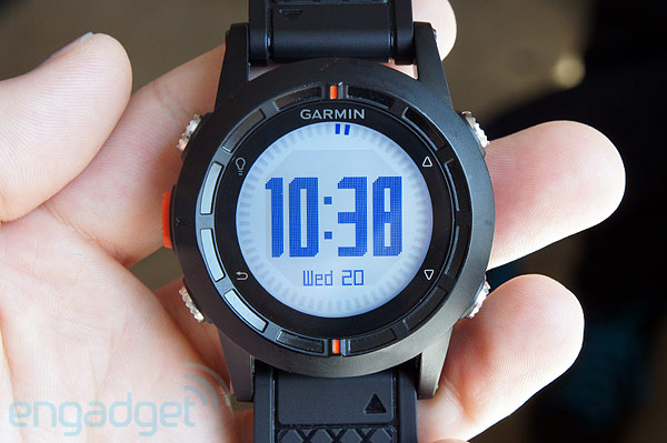 Garmin unveils Fenix, its first GPS watch for deeppocketed outdoorsy types handson