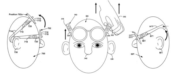 Google patents Project Glass motionbased theft detection, locks up if it feels 'unnatural' movement