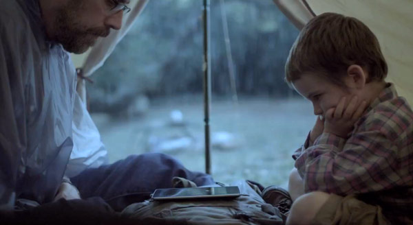 Google takes Nexus 7 camping for its first ad, doesn't need to pack bug repellent video