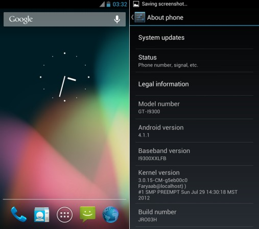AOSP Jelly Bean port for international Galaxy S 3 available, 'mostly everything is working'