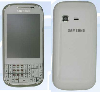 Samsung's GT-B5330 shows up in leaked photos, flaunts its QWERTY traits