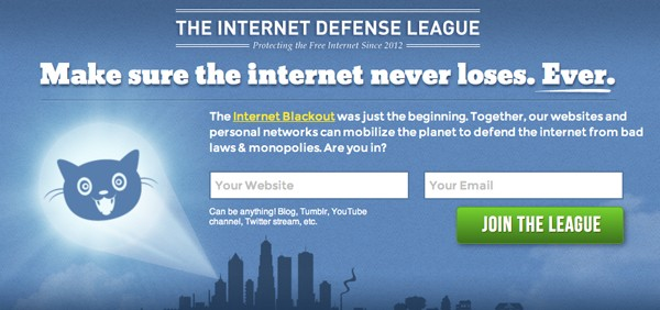 Internet Defense League forms with support of EFF and Mozilla, bills self as 'bat signal' of the web