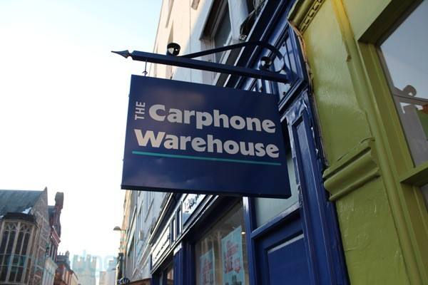 PSA Nexus 7 arrives at the Carphone Warehouse today