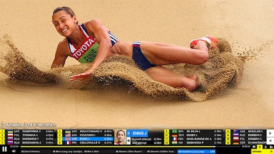 photo image BBC launches updated, interactive live video player ahead of Olympics; lines up 'summer of 3D'