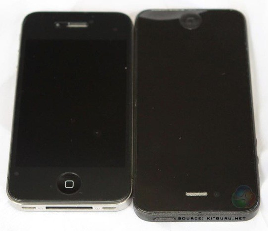 New reported 2012 iPhone body leaks, gives the glass front its time to shine