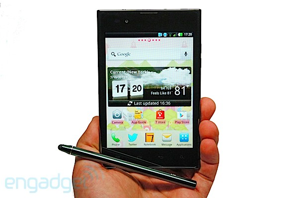 LG Optimus Vu review lead