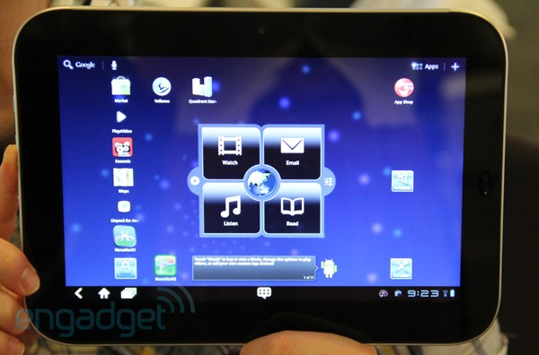 Lenovo IdeaPad K1 gets smeared with Ice Cream Sandwich