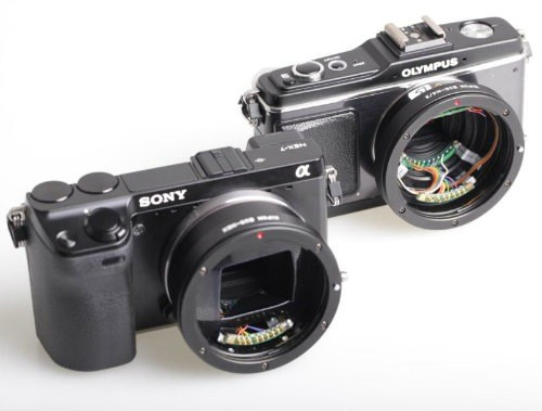 Kipon preps Canon EF lens adapters for Micro Four Thirds, NEX with electronic control, preserves your glass collection
