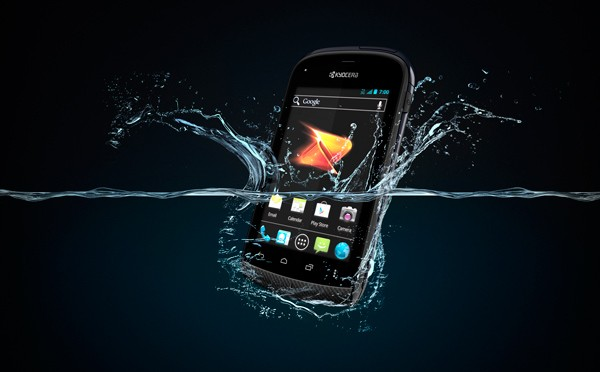 Kyocera Hydro hitting Boost on August 3rd for $  130, lets you get your Ice Cream Sandwich soggy