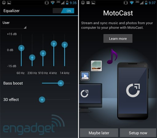 DNP Motorola ICS UI review this isn't the Blur we used to know