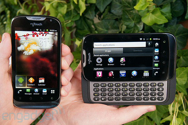 TMobile myTouch and myTouch Q officially announced, we go handson