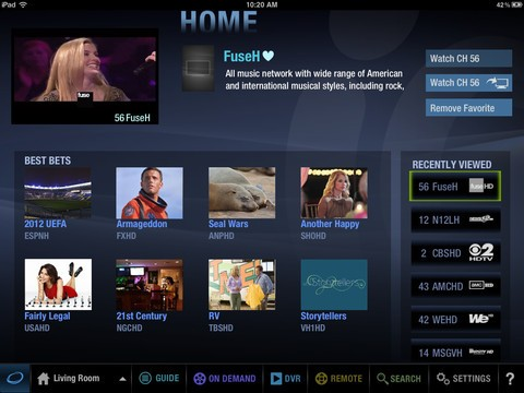 Cablevision Optimum apps for iPad, iPhone upgraded with a new UI, ratings and discovery features