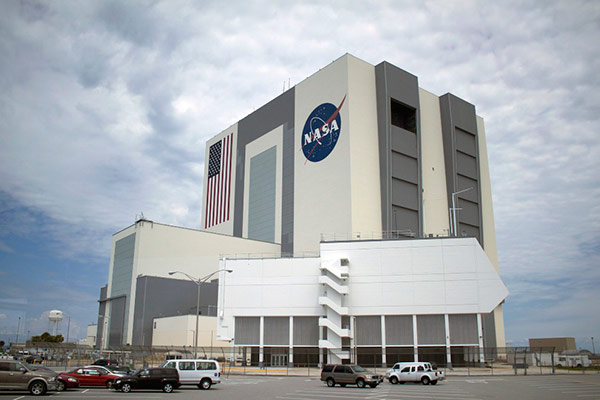 Inside NASA's Launch Control Center at Kennedy Space Center