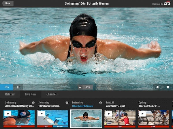NBC's 2012 London Olympics apps for Android and iOS are now available