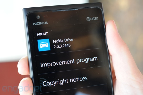 Nokia Drive for WP Review by Engadget; Deemed Best in Class
