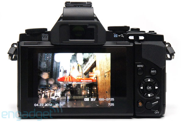 Olympus outs update for OM-D E-M5 camera, sleep mode and AF improvements in tow