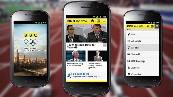 BBC releases Olympics app, streams the glorious Games straight to your iOS or Android device